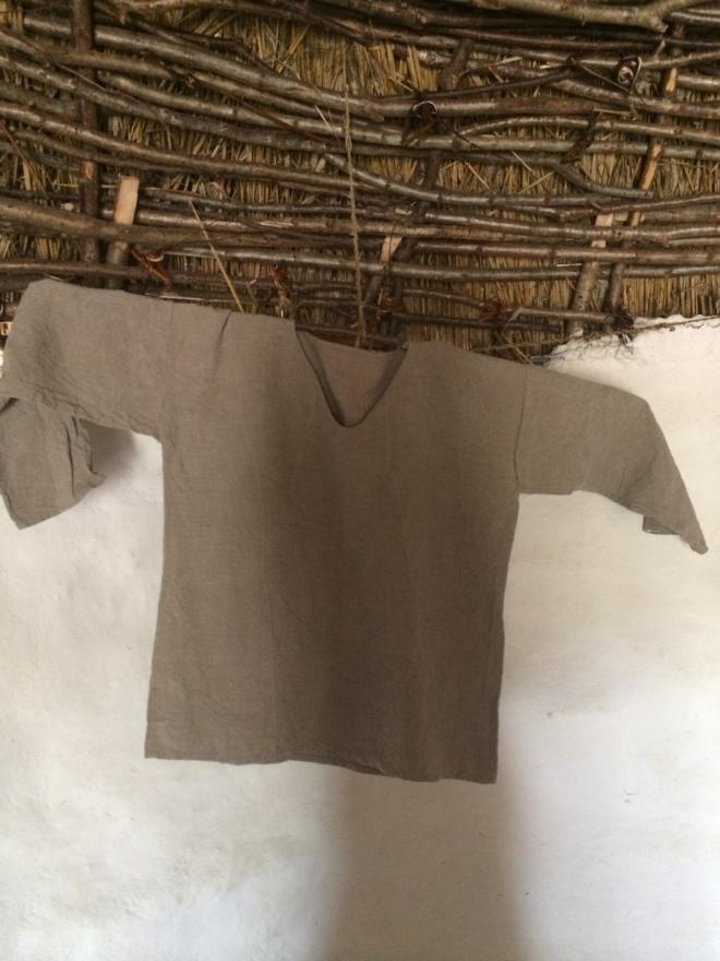 Shirt made from nettles
